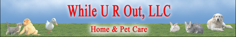 While U R Out - Home & Pet Care